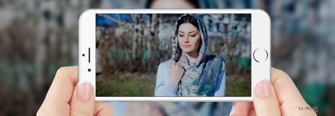 """Легкие платки и палантины из шелка и хлопка из коллекции """"Романтика"""""""