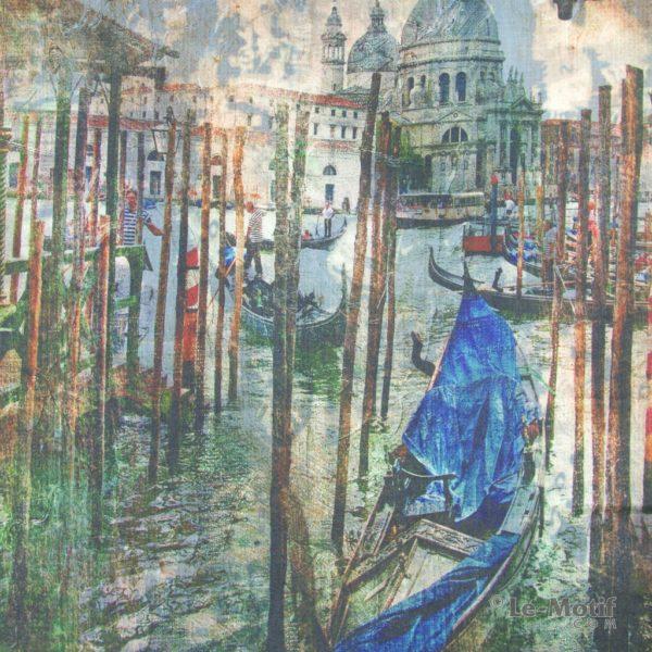 Платок Le Motif из шерсти и хлопка красоты Венеции, 15GF233