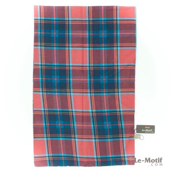 Шарф-снуд Le Motif из шелка и хлопка шотландская клетка BT02-5