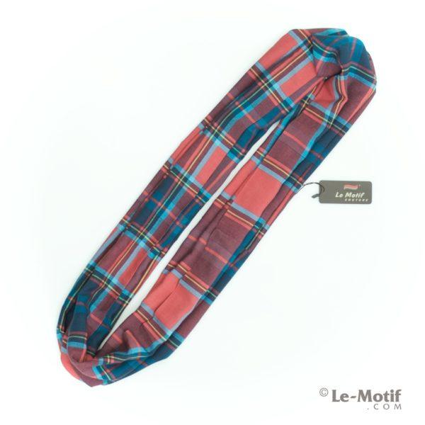 Шарф-снуд Le Motif из шелка и хлопка. Фото для каталога .