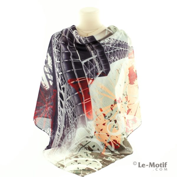 Платок Le Motif Couture из хлопка как красиво завязать