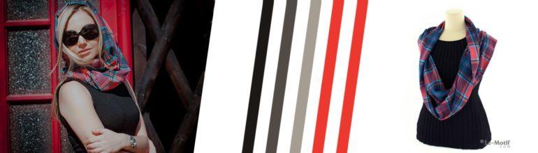 """Модные хлопковые шарфы - снуды из коллекции """"Бесконечность"""""""