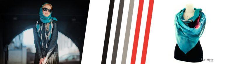"""Легкие летние платки и палантины из шелка с вискозой коллекции """"Летний бриз"""""""