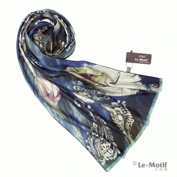 Шарф Le Motif Couture из шерсти и хлопка. Фото для каталога 1.