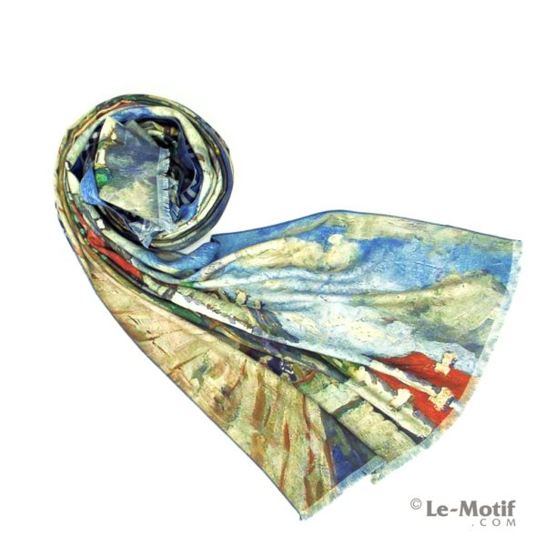 Шарф Le Motif Couture из шерсти и хлопка. Фото для каталога 1,