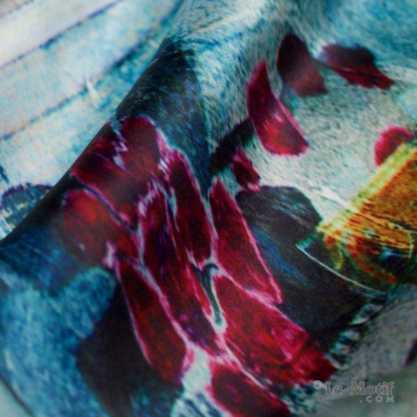 Палантин Le Motif из хлопка с вискозой. Фото ткани 1, арт. 15SD356