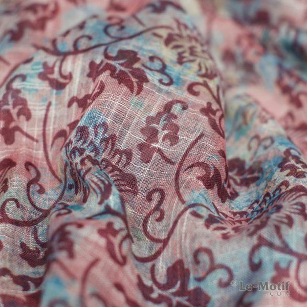 Палантин Le Motif из льна с вискозой. Фото ткани 2, арт. 15Z106-1X