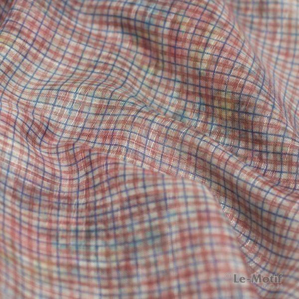 Платок Le Motif из льна с вискозой. Фото ткани 2, арт. 16Z116