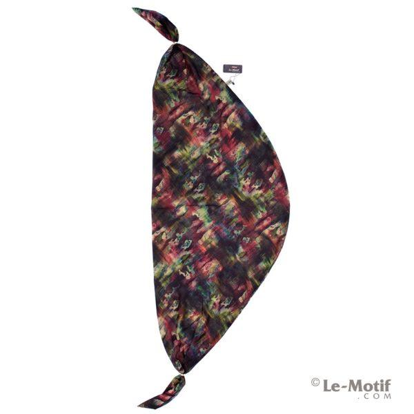 Шарф-долька Le Motif из хлопка с вискозой. Палитра акварели.