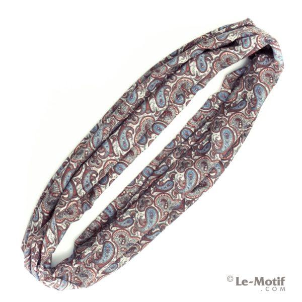 Шарф-снуд Le Motif Coutureиз хлопка. Фото для каталога.