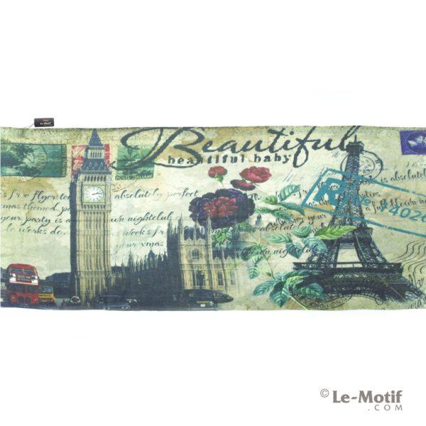 Палантин Le Motif из шелка и хлопка. Изображение Лондона и Парижа