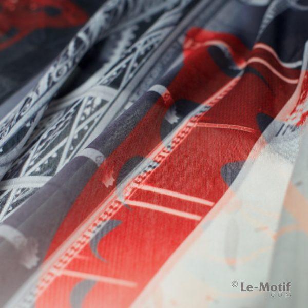 Платок Le Motif Couture из хлопка. Фото ткани, арт. HF15-528