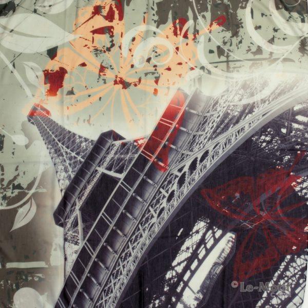 Платок Le Motif Couture из хлопка изображение - Эйфелева башня