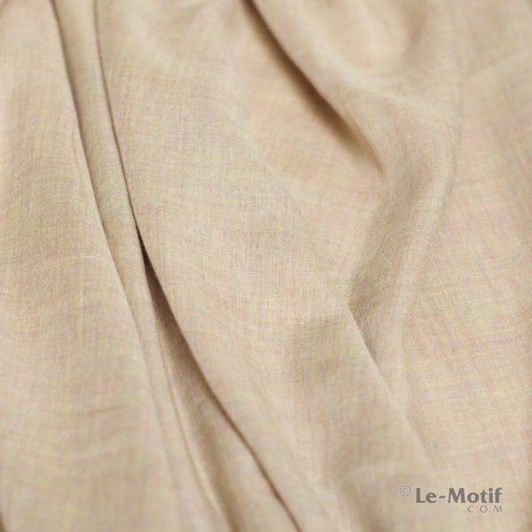 Палантин Le Motif из шелка и хлопка. Фото ткани, арт. LX01-02