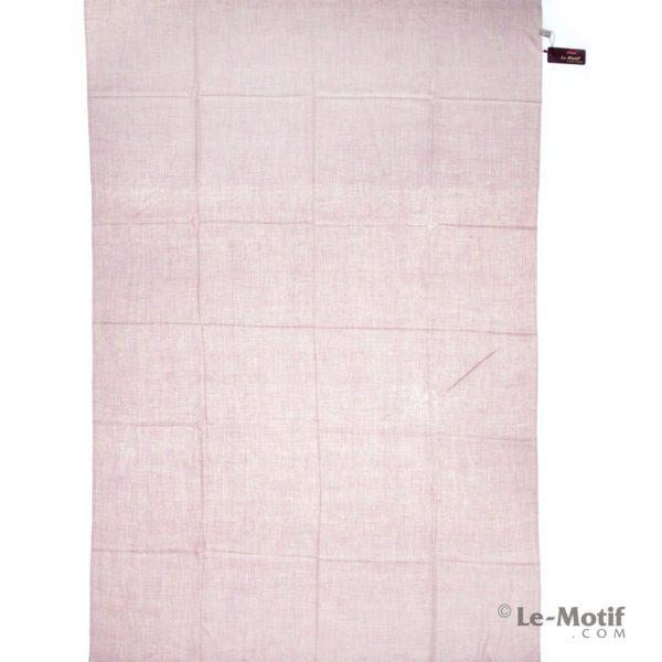 Палантин Le Motif из шелка и хлопка розовый, арт.LX01-03