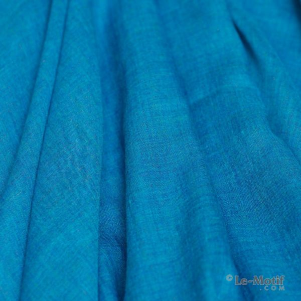 Палантин Le Motif из шелка и хлопка. Фото ткани, арт. LX01-24