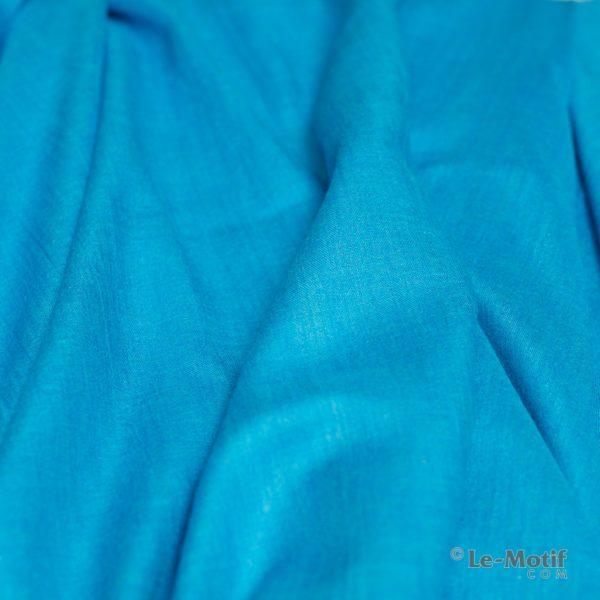 Палантин Le Motif из шелка и хлопка. Фото ткани, арт. LX01-30