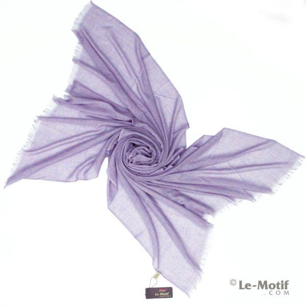 Палантин Le Motif из шелка и хлопка. Фото для каталога, LX01-6