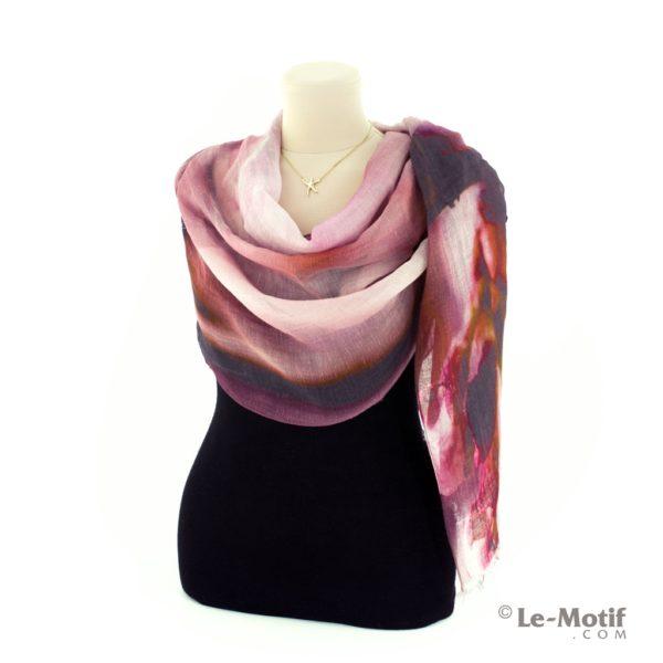 Палантин Le Motif из льна и модала как красиво завязать