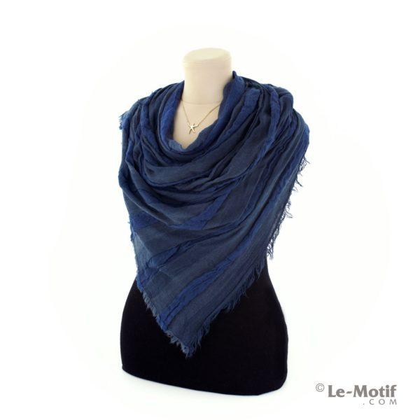 Шарф Le Motif Couture из льна и хлопка как красиво завязать