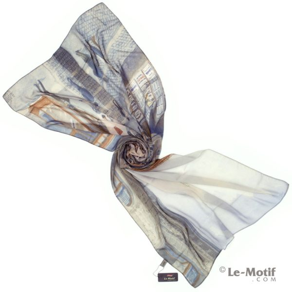 Палантин Le Motif из шелка с вискозой. Фото для каталога