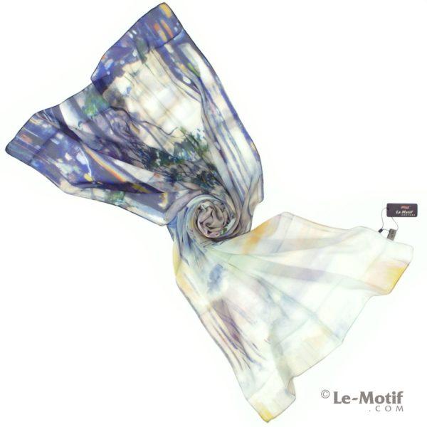 ПалантинLe Motif Couture из шелка с вискозой. Фото для каталога