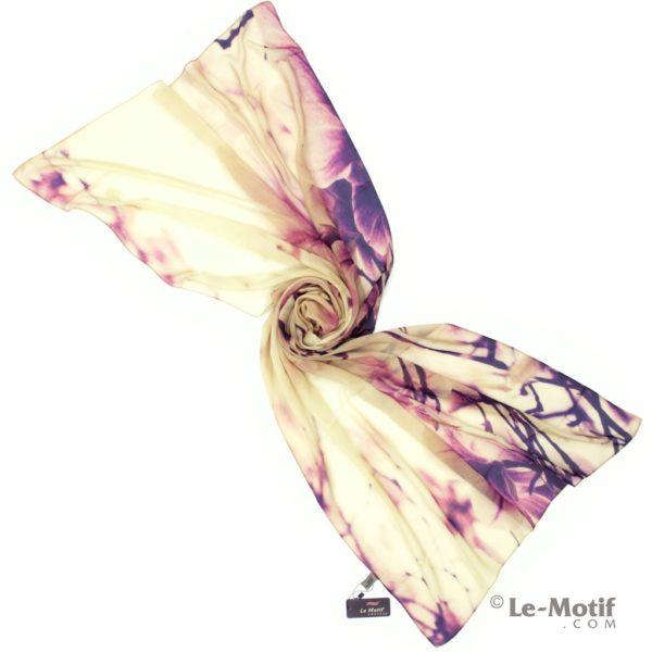 Палантин Le Motif Couture из шелка с вискозой. Фото для каталога