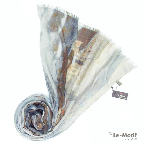 Палантин Le Motif из хлопка с вискозой. Фото для каталога.