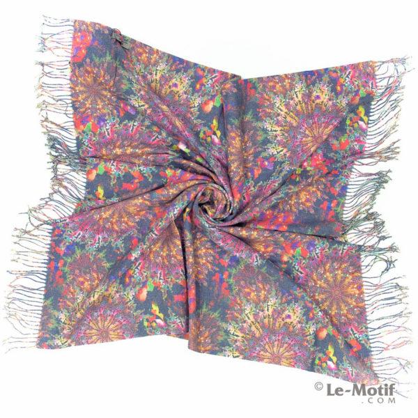 Платок Le Motif из шерсти и хлопка. Фото для каталога 2, 15GF323