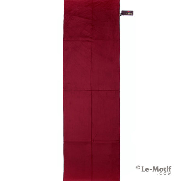 Палантин Le Motif Couture из хлопка с вискозой. Бордовый.