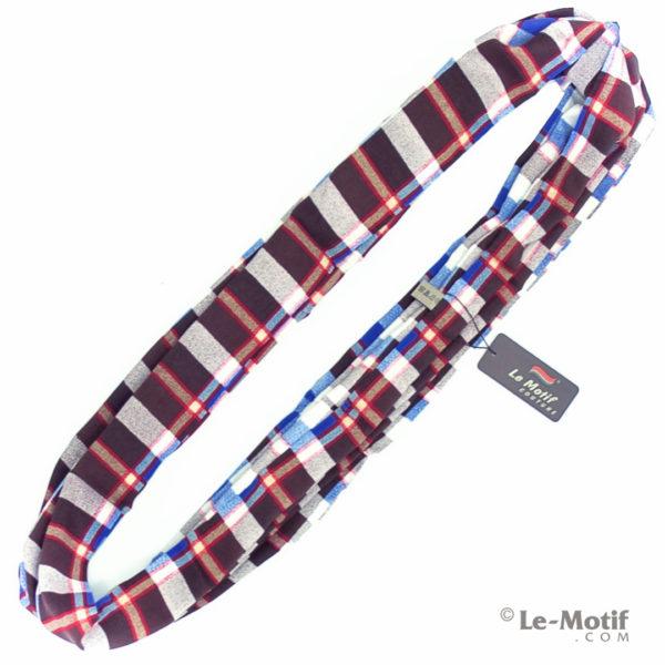 Шарф-снуд Le Motif Couture из шёлка и хлопка Фото для каталога