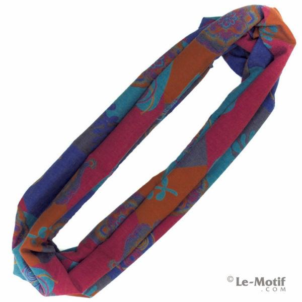 Шарф-снуд Le Motif Couture из хлопка. Фото для каталога, BT03-5