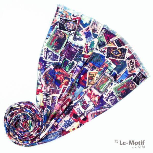 Шарф Le Motif Couture из шерсти и хлопка. Фото для каталога 2.