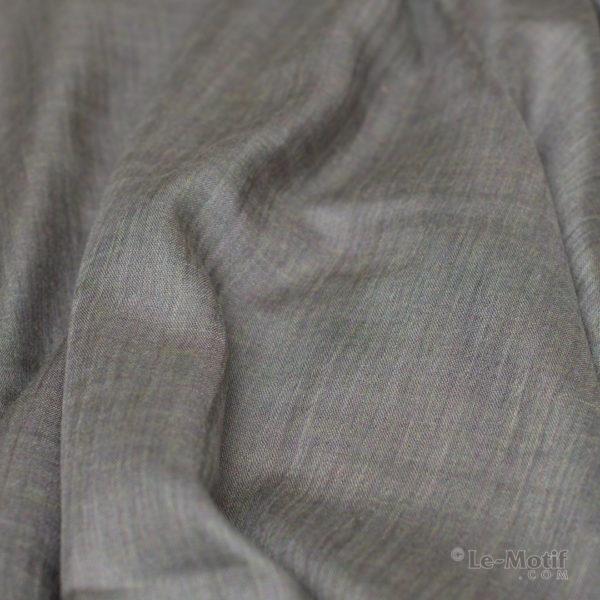 Палантин Le Motif из шёлка и хлопка Фото ткани, арт. LX01-14