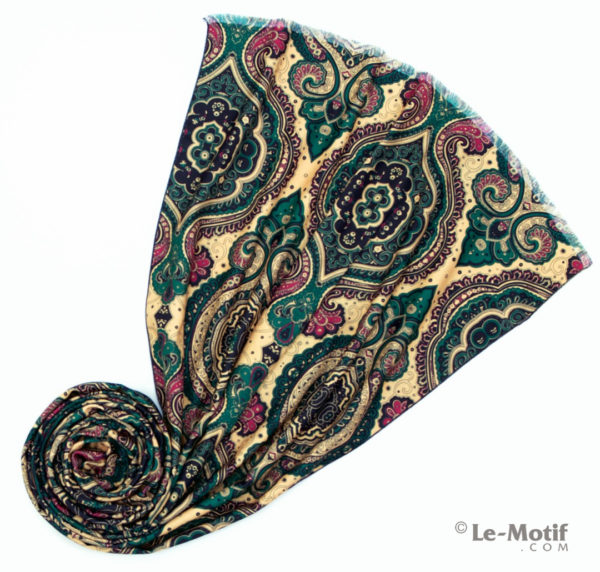 Шарф Le Motif из шерсти и хлопка. Фото для каталога 2, LS15-677