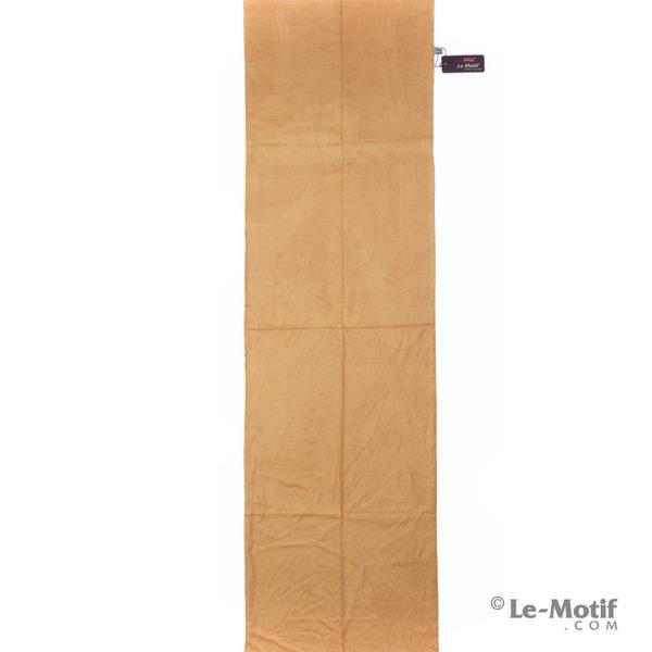 Палантин Le Motif Couture из хлопка с вискозой. Персиковый.