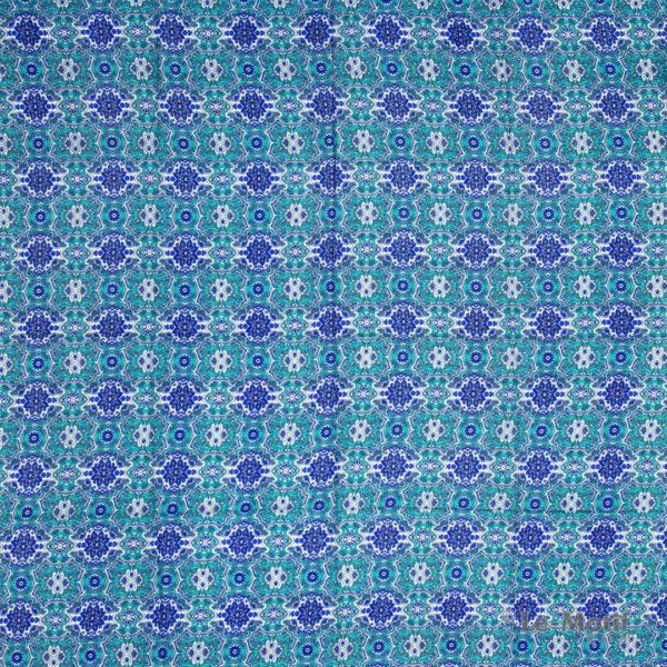 Платок Le Motif из шёлка и хлопка. Восточные узоры, SM164-1