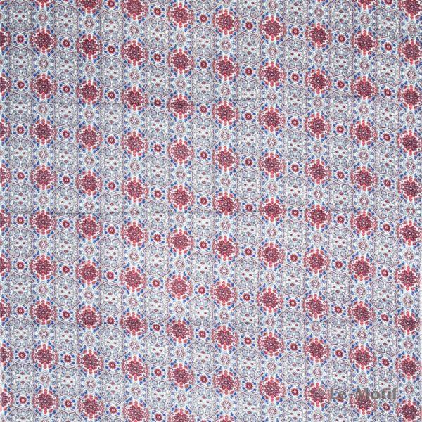 Платок Le Motif из шёлка и хлопка. Изображение узоров, SM164-2