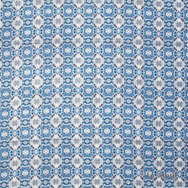 Платок Le Motif из шёлка и хлопка. Изображение узоров SM164-3