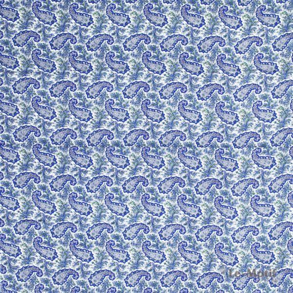 Платок Le Motif из шёлка и хлопка изображение узоров SM168-1