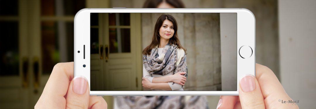 """Необычайно мягкие шарфы из хлопка и шерсти. Коллекция """"Осенние узоры"""""""