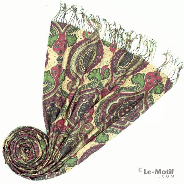 Палантин Le Motif из шерсти и хлопка. Фото для каталога 2, 15GS231