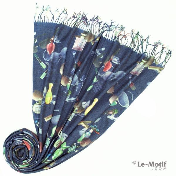 Палантин Le Motif из шерсти и хлопка. Фото для каталога 1, GS15-670