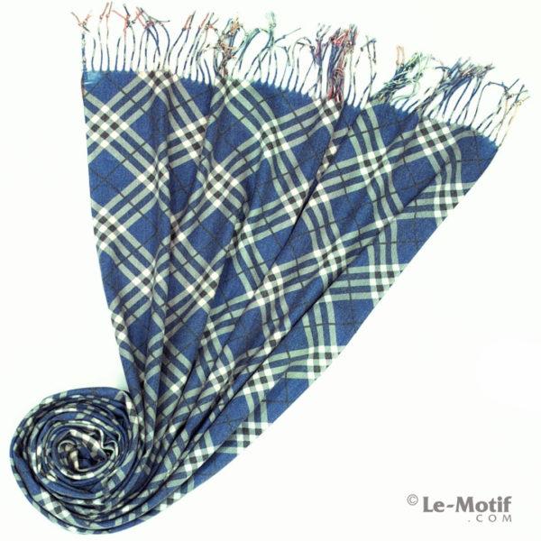 Палантин Le Motif из шерсти и хлопка. Фото для каталога 2, GS15-671