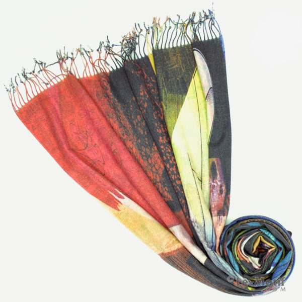 Палантин Le Motif из шерсти и хлопка. Фото для каталога 1, GS15-674