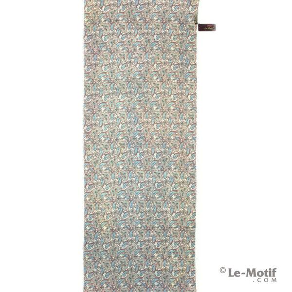 Палантин Le Motif из шерсти и хлопка. Орнамент пейсли.