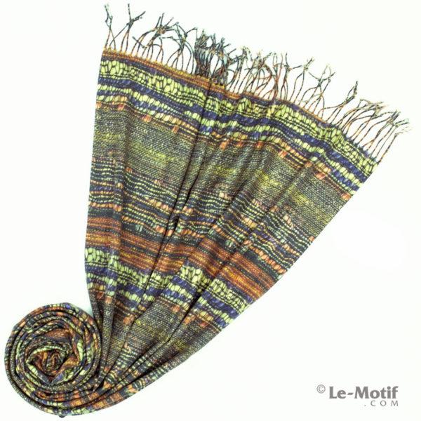 Палантин Le Motif из шерсти и хлопка. Фото для каталога 2, GS16-251