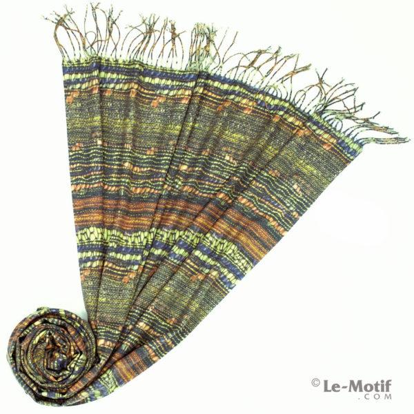 Палантин Le Motif из шерсти и хлопка. Фото для каталога 2, GS16-335