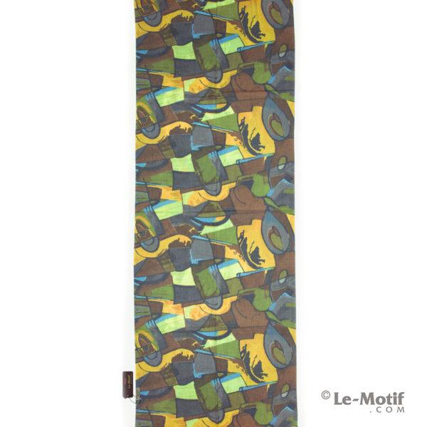 Палантин Le Motif из шерсти и хлопка. Абстрактные фигуры, GS16-383