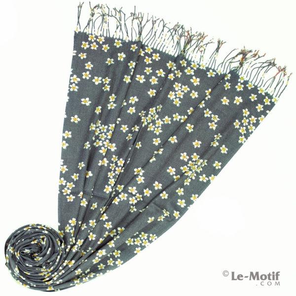 Палантин Le Motif из шерсти и хлопка. Фото для каталога 2, GS298-1